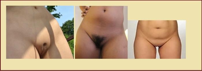 Penis frauen und vagina mit
