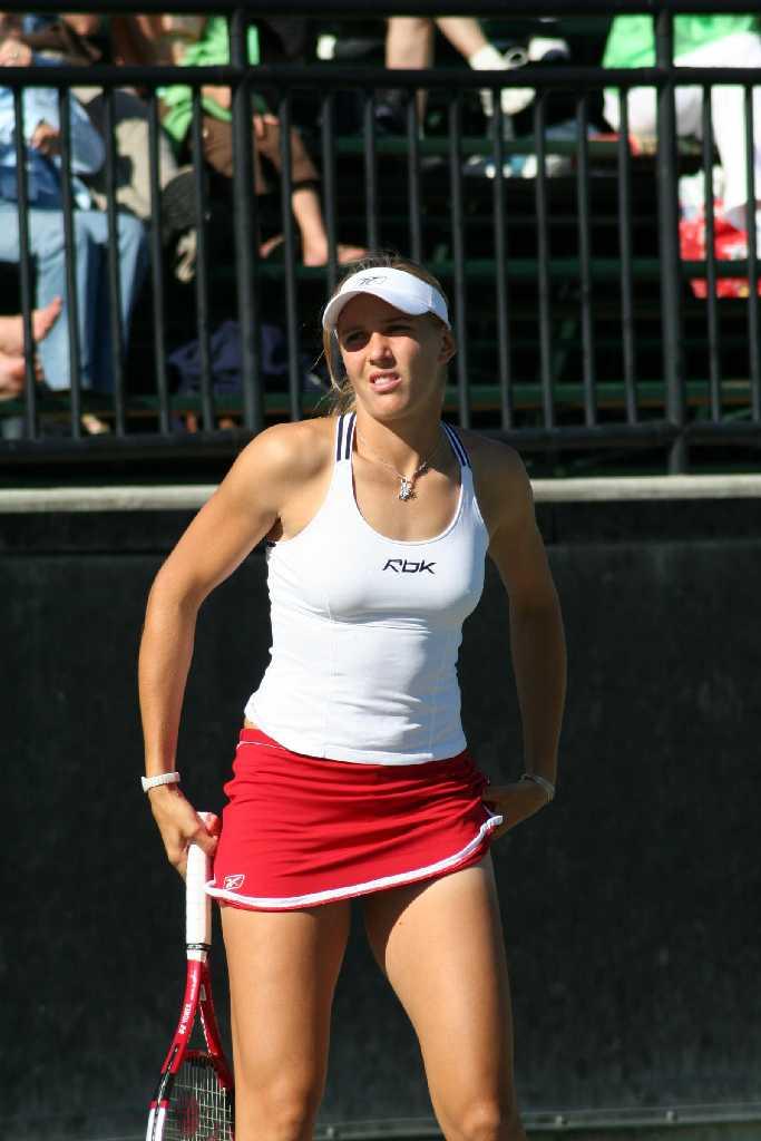 Sexy tennis madchen ass hot