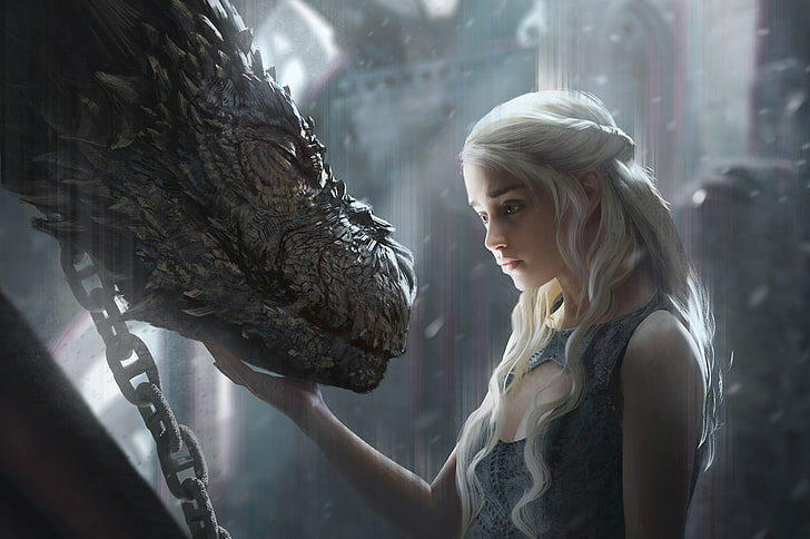Targaryen drachen daenerys game of thrones