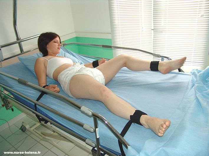 Girl windel medical bondage adult