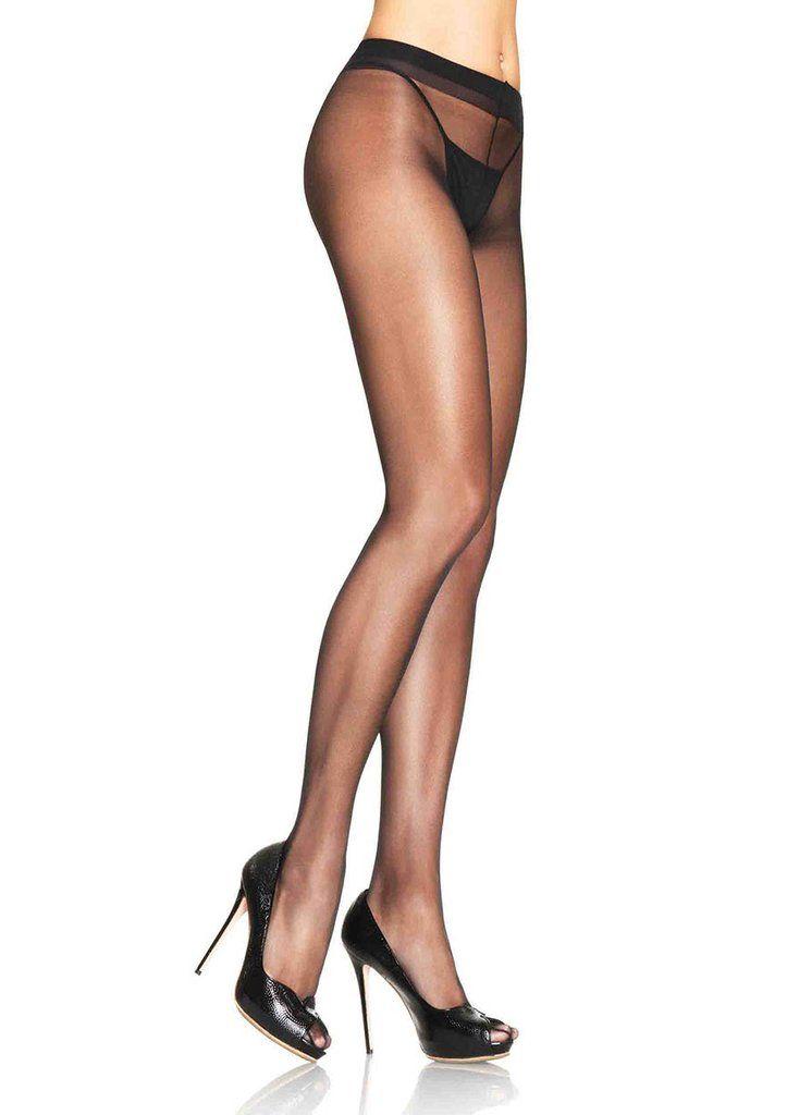 Und heels strumpfhose crotchless high