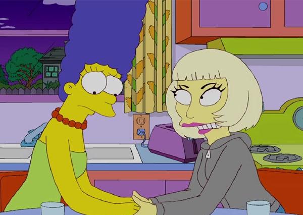 Simpson marge pornos und gaga lady