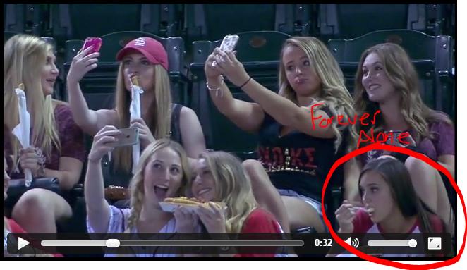 Beim baseball spiel video sex