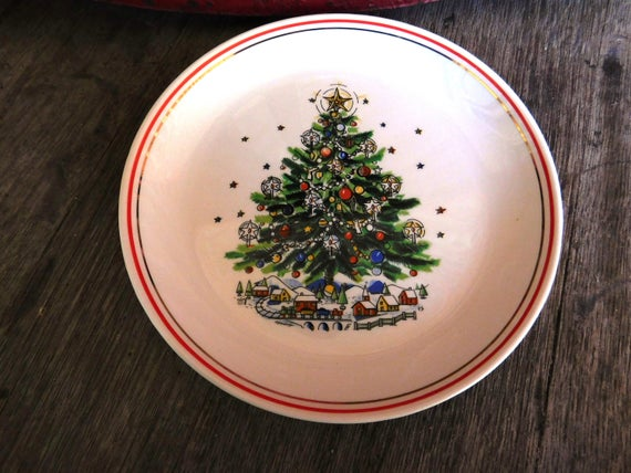 China christmas eve vintage salem