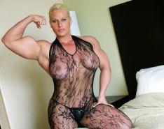 Die weibliche porno bodybuilder tun