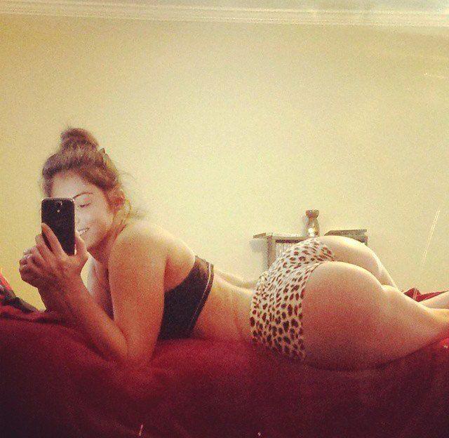 Girl arsch slim mit fetten