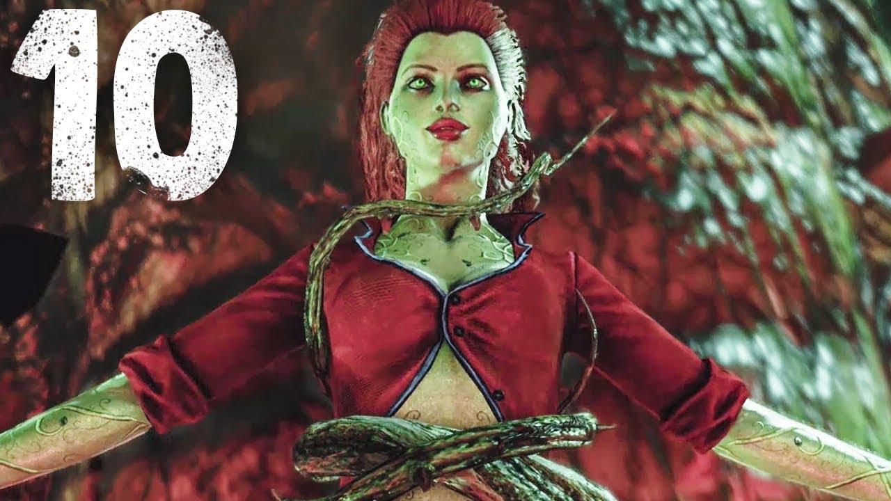 Arkham ivy batman asylum poison