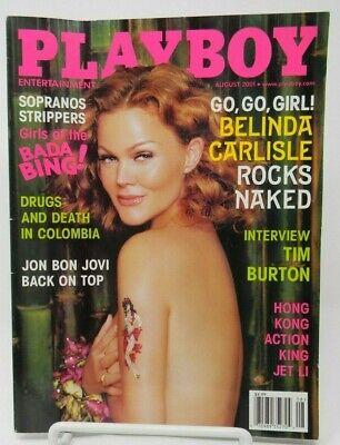 Playboy nackt russische mit belinda carlile