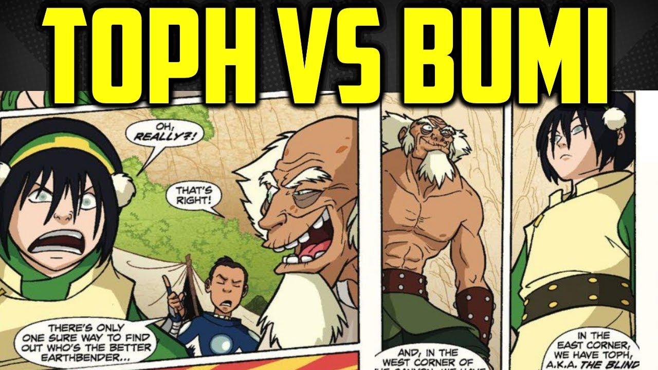 Comic airbender toph avatar the last