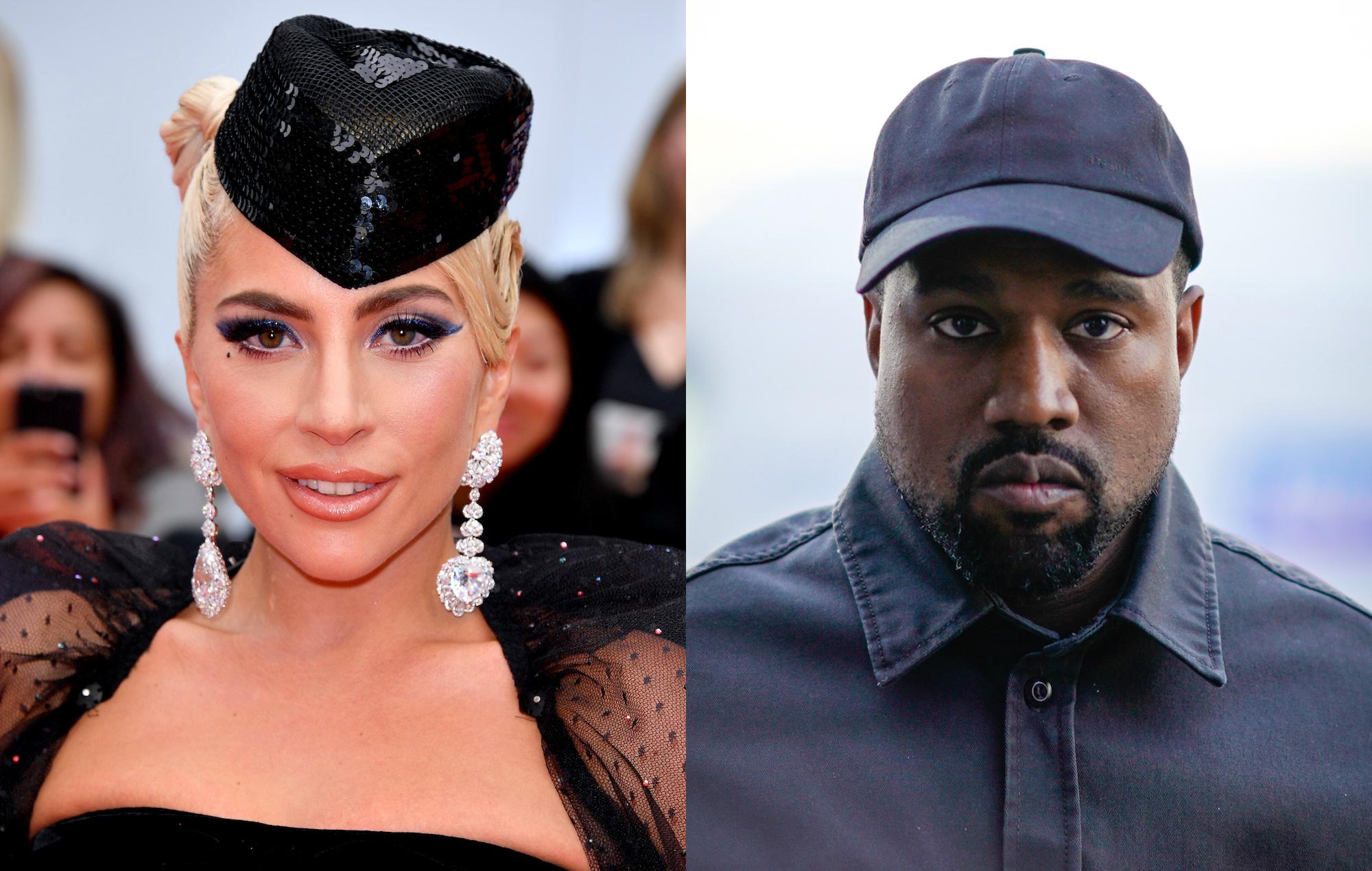 Gaga nackt west lady kanye