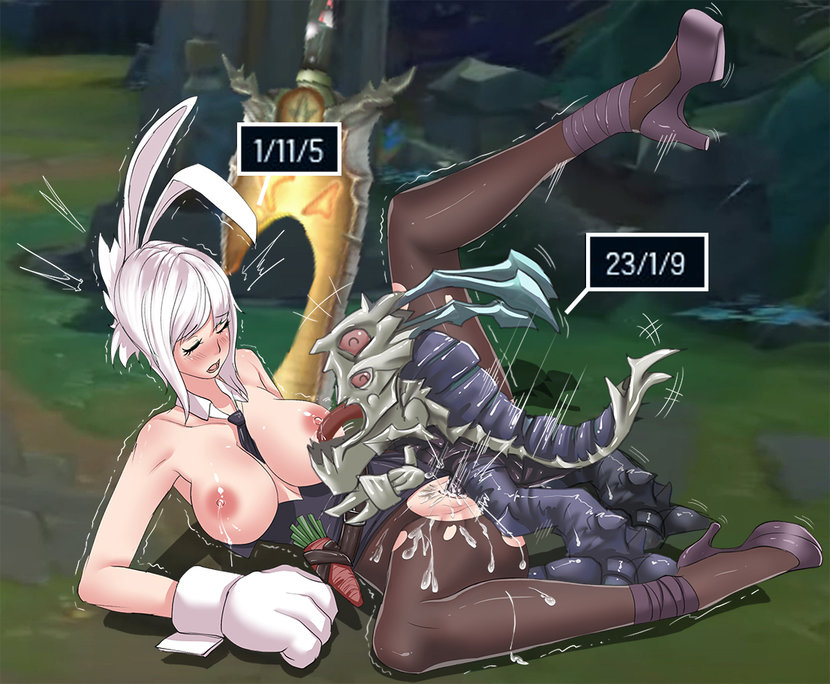 Legends riven hentai league lux und of