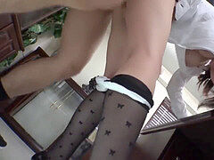 Kleider strumpfe hohe fersen milf kurze