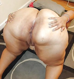 Fat pussy anal ass big