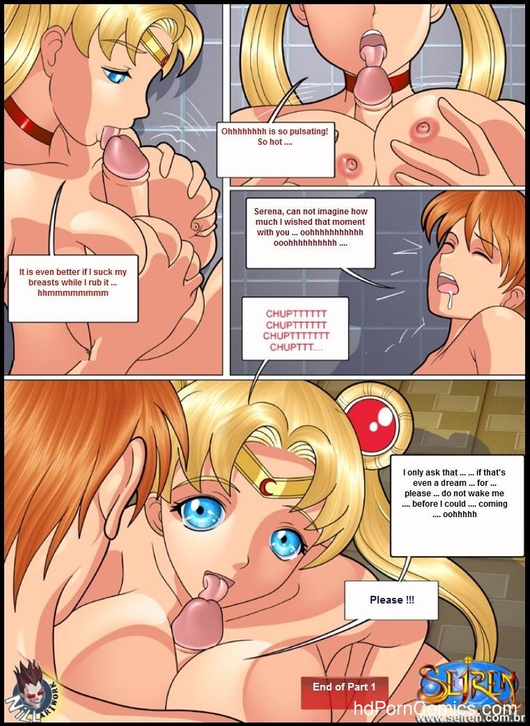 Porno comic sexy sailor moon