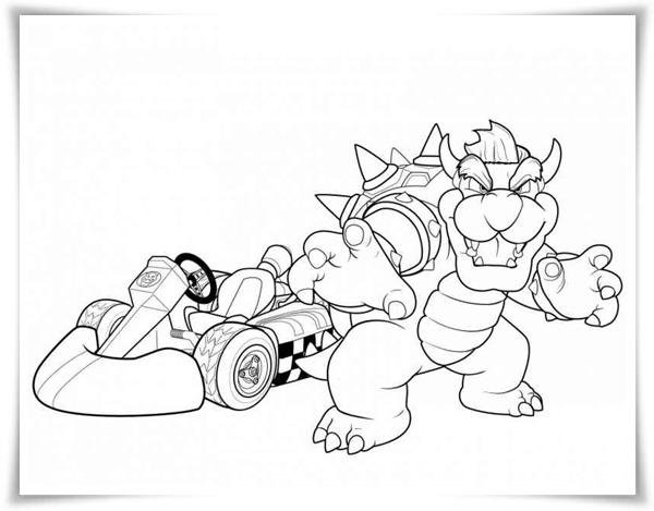 Mario drucken super malvorlagen zum