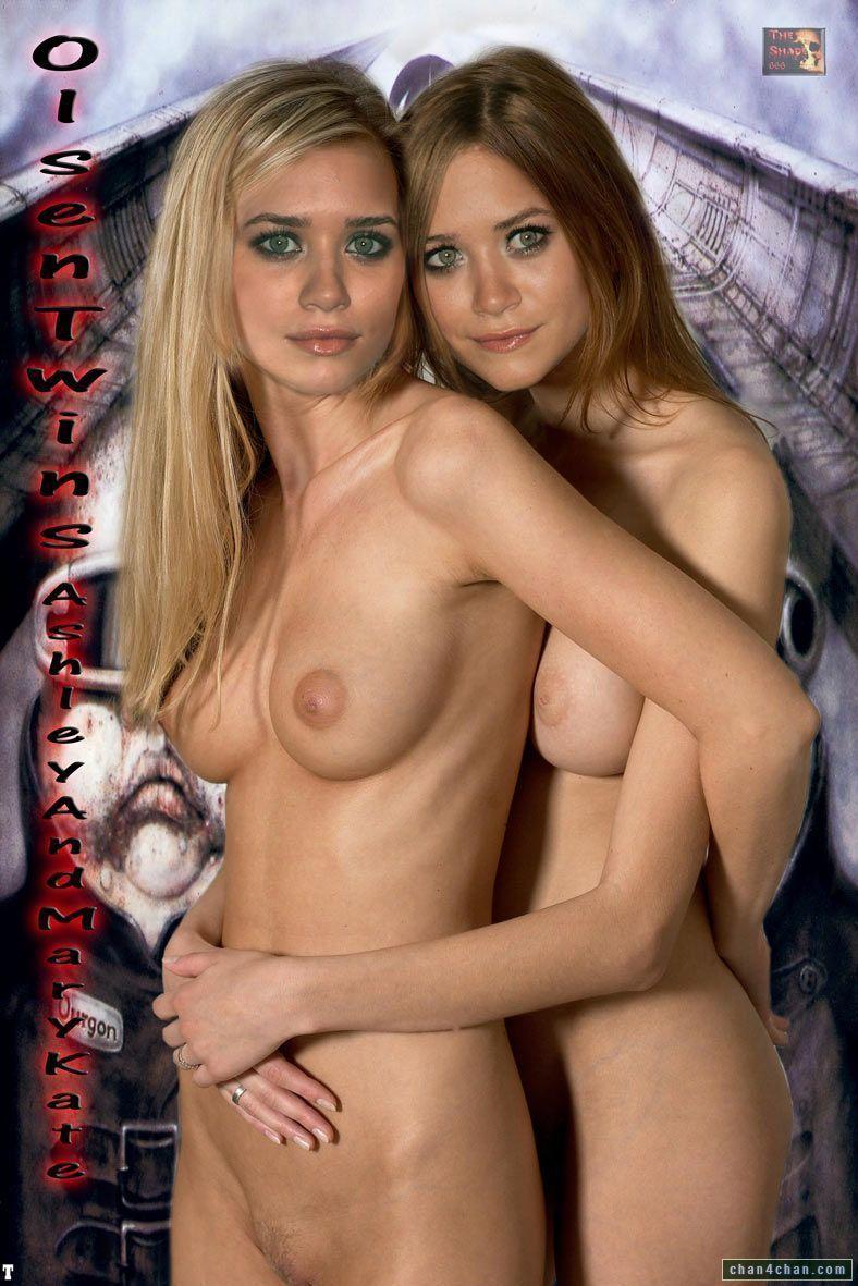 Olsen fake twin nackt pic
