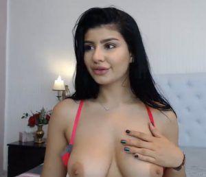 Bouncing babe back big boob