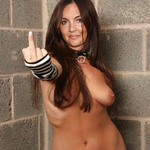 Cum black shot big tits girl