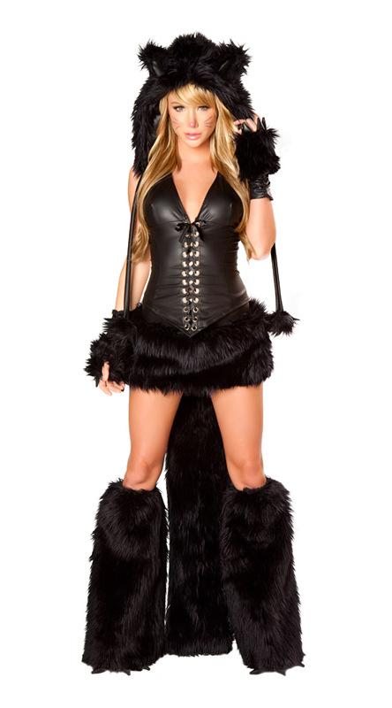 Erwachsene sexy fur frauen kostum