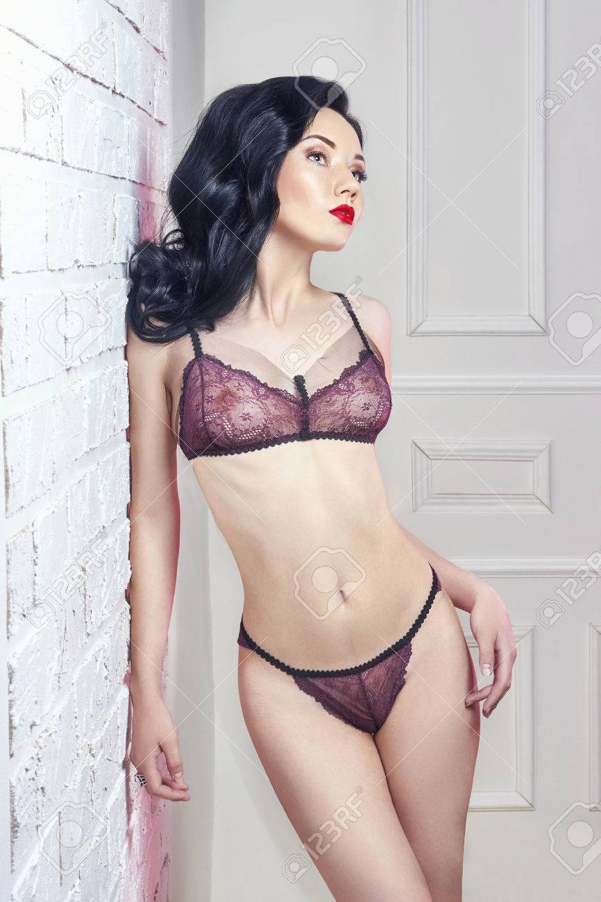 Girl sexy dessous modelle glamour
