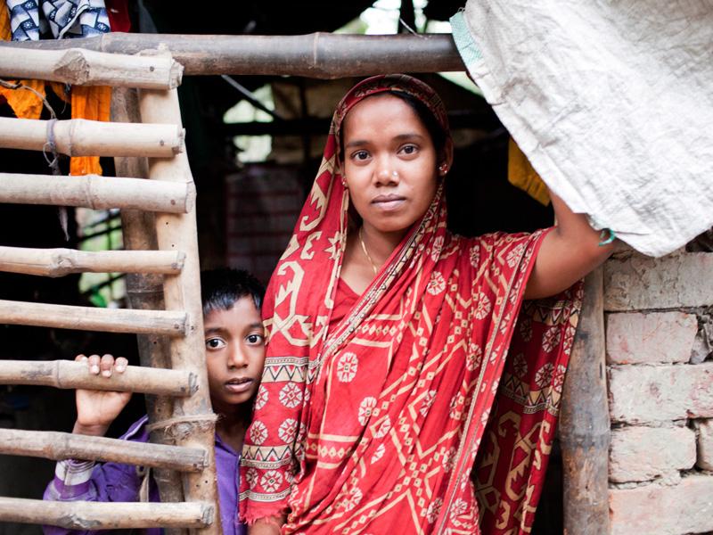 Dorf madchen junge indische sehr