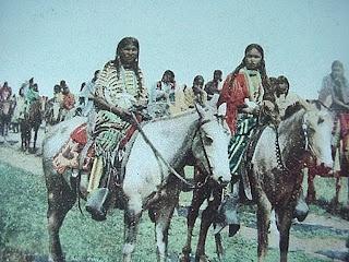 Party kansas native american girl