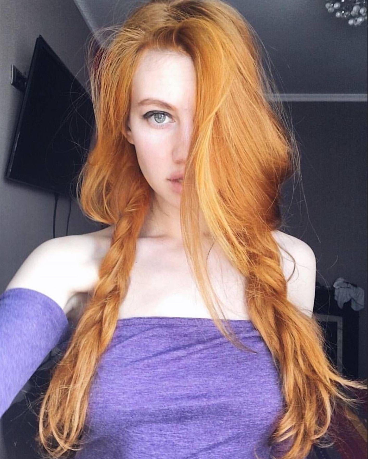 Sommersprossen rothaarige lesbische szene mit