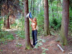Wald im amateur madchen nackt