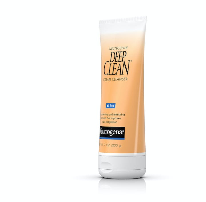 Deep facial cleanser clean neutrogena