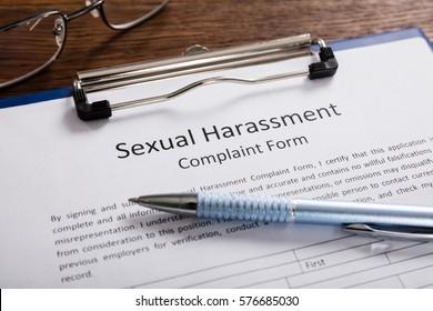 Der workplae belastigung in sexuelle