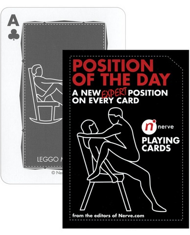Card playing deck position sex