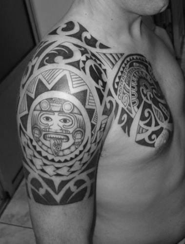 Tattoo maori manner tribal designs fur