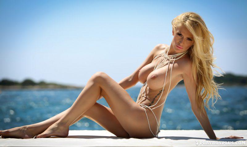 Big blonde titten playboy models