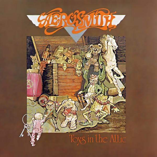 The aerosmith attic album cover in toys