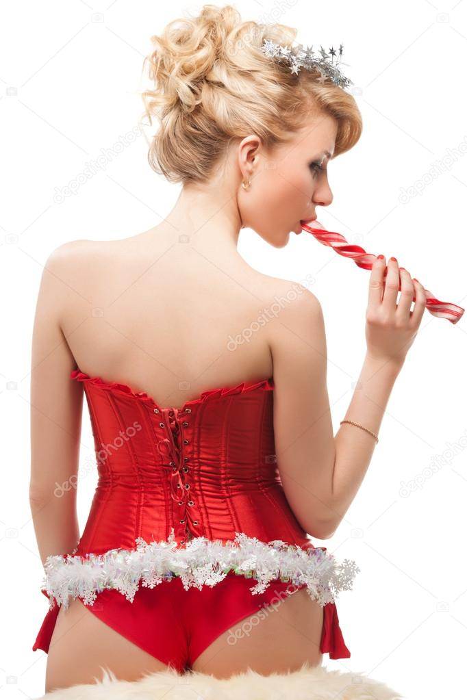 Helper weihnachts kostum santa sexy