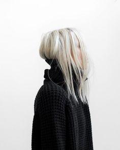 Schwarze haare x luna f