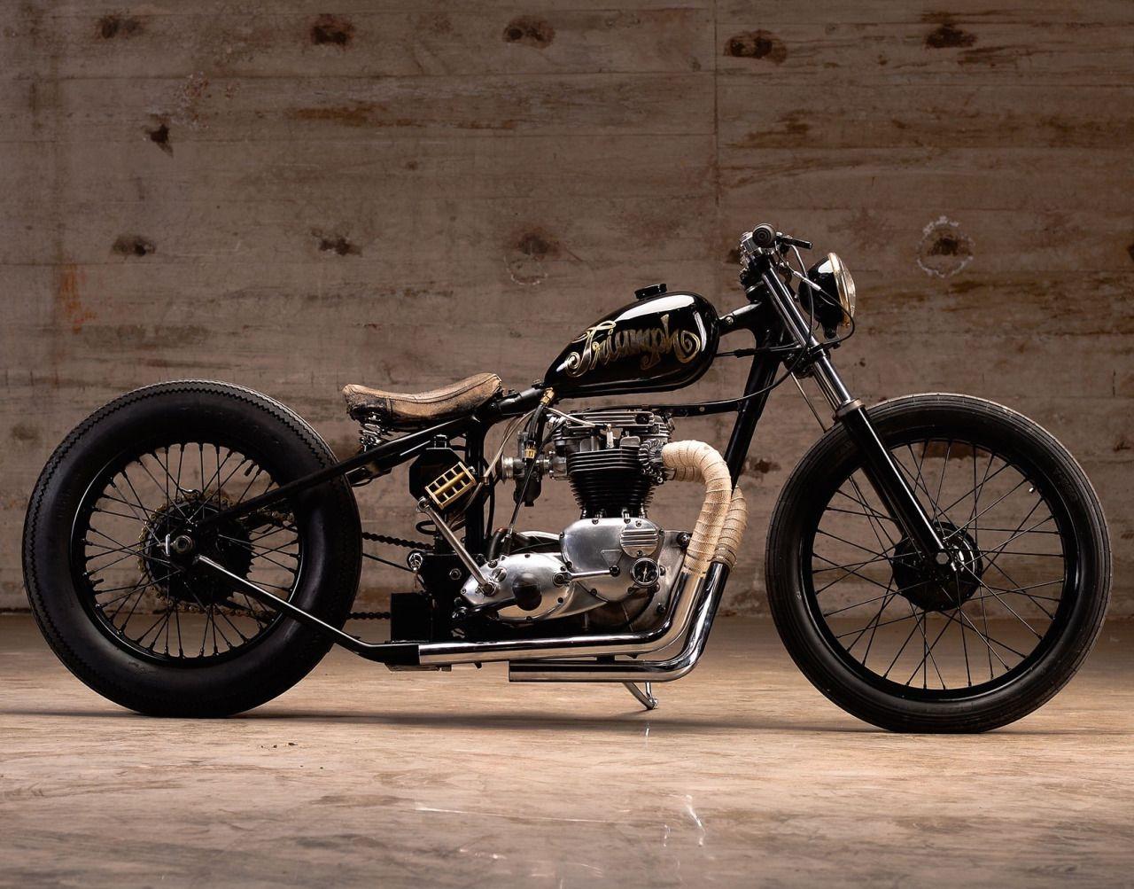 Und custom chopper madchen motorrader