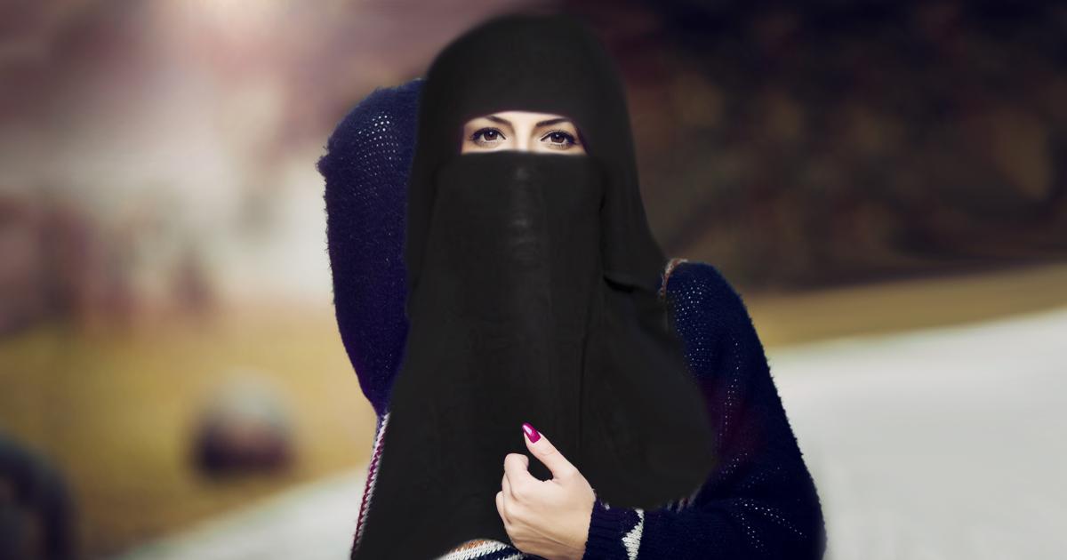 Burka frauen mit sexy muslimische