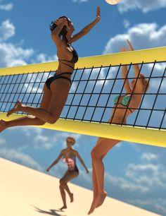 Und sexy titten volleyball arsch