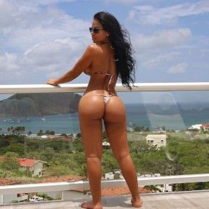 Girls ass latina big naked