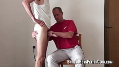 Fetisch club british boys spanking