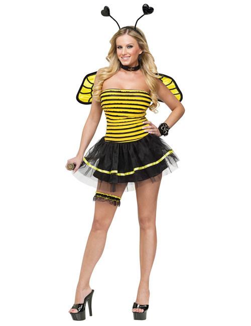 Bee bumble adult halloween kostum