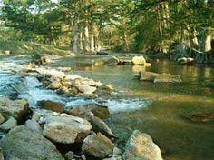 In tod virgin texas river