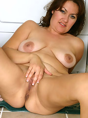 Wide pussy cougars spread bbw