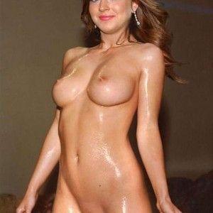 Skinny fluss dipping girl nude