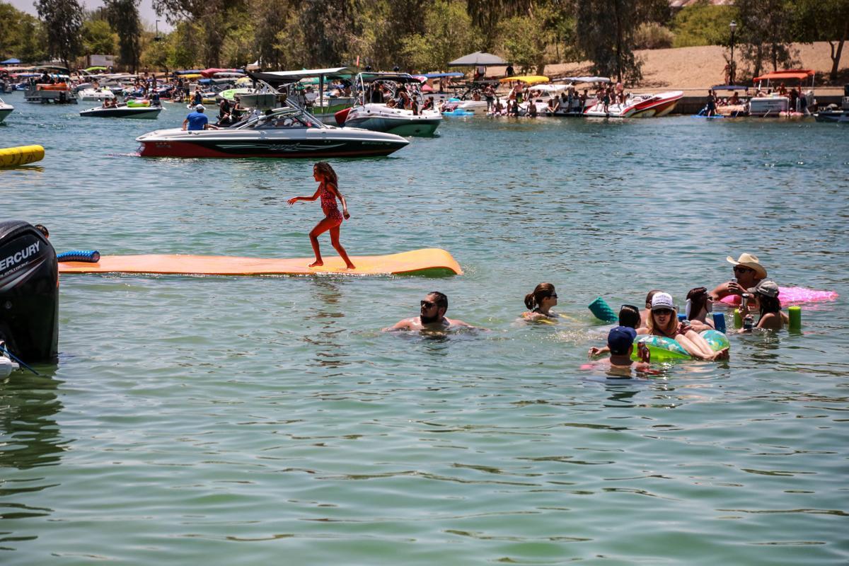 Havasu bikinis day lake memorial
