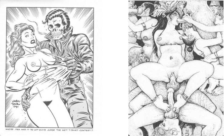 7 seiten vintage porno cartoons