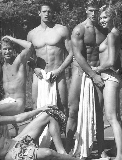 Male models und nude abercrombie fitch