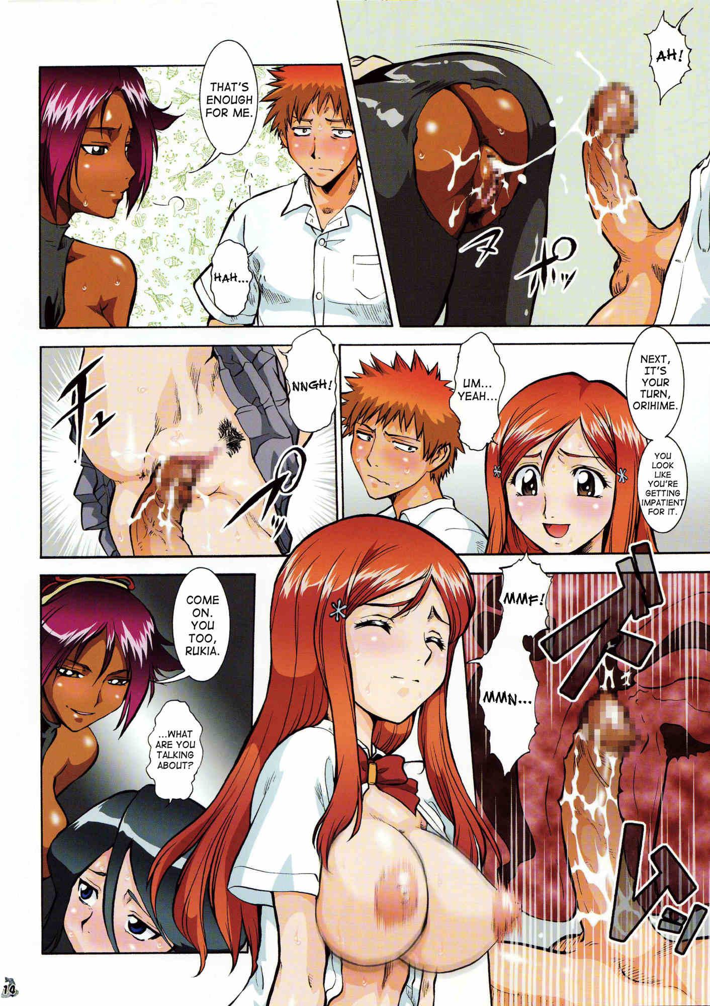 Hentai comics sex bleach lesben