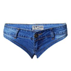 Jeans madchen thong rise low